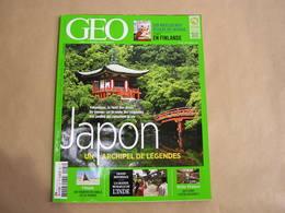 GEO Magazine N° 427 Géographie Voyage Monde Japon Yakushima Afrique Oman Finlande Alsace France Muraille Inde - Tourisme & Régions