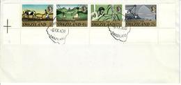 SWAZILAND 1968 -  -  SERIE COMPLETA SU FDC - Swaziland (1968-...)