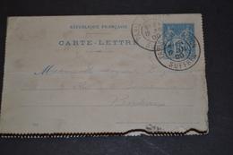 Entier CL Type Sage Cachet PARIS EXPOSITION SUFFREN - Cartoline-lettere