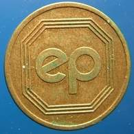 KB135-1 - EP EGBERT PROHAMA - Dalfsen - B 20.0mm - Koffie Machine Penning - Coffee Machine Token - Professionnels/De Société