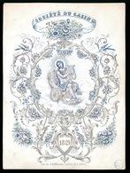 GENT PORSELEINKAART  17.5 X 13 CM - SOCIETE DU CASINO 1849 - Gent