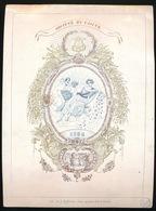 GENT PORSELEINKAART  18.5 X 14 CM - SOCIETE DU CASINO 1850 - Gent