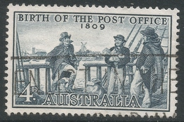Australia. 1959 150th Anniv Of Australian Post Office. 4d Used. SG 331 - 1952-65 Elizabeth II : Pre-Decimals