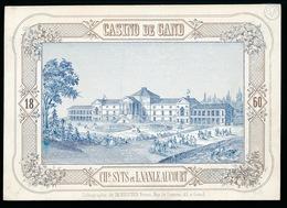 GENT PORSELEINKAART  17.5 X 12 CM - CASINO DE GAND  1860 - Gent