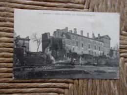 8-1-----------dordogne--chateau De Luzie Pres Beaumont Du Perigord-voir Recto Verso - France