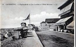 CAPBRETON L'Esplanade De La Cote Landaise Et L'Hôtel Miramar - Capbreton