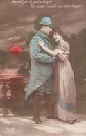 """CARTE PATRIOTIQUE CPA. ."""" QUE E SOIT LE MATIN OU SOIR....."""". TEXTE ANNEE 1916 - Patriottiche"""
