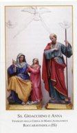 Roccaravindola, Isernia - Santino SS. GIOACCHINO E ANNA, Chiesa Maria Ausiliatrice - PERFETTO P86 - Religione & Esoterismo