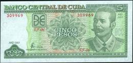 CUBA - 5 Pesos 2003 UNC P.116 F - Cuba