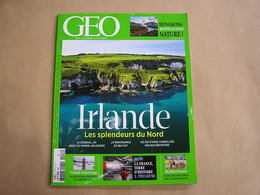 GEO Magazine N° 446 Géographie Voyage Monde Asie Hongkong Irlande Nord Antarctique Toulouse Méditérranée - Tourisme & Régions