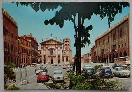 Mantova - Piazza Sordello - Auto Cars Fiat 500 Fiat 600 Fiat 850 VW Beetle - Vg L2 - Mantova