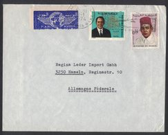 YN142   Maroc Morocco 1974 Lettre Par Avion Cover To Allemagne Germany - Morocco (1956-...)