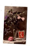 Carte Bonne Annee Houx  Cachet ? + Port Said - Nouvel An