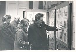 EVERGEM ERTVELDE  FOTO 1973  18 X 13 CM  - 50 JARIG BESTAAN POSTZEGELCLUB ERTFILA TENTOONSTELLING LEEFMILLIEU - Evergem