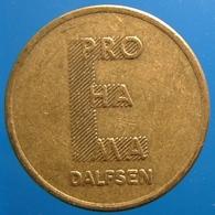 KB136-1 - E PRO HA MA - Dalfsen - B 20.0mm - Koffie Machine Penning - Coffee Machine Token - Professionnels/De Société