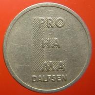 KB136-2 - E PRO HA MA - Dalfsen - WM 22.5mm - Koffie Machine Penning - Coffee Machine Token - Professionnels/De Société