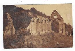 CPA Beaumont Le Roger Ruines De L'Abbaye - Beaumont-le-Roger