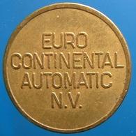 KB138-1 - EURO CONTINENTAL - Rotterdam - B 20.0mm - Koffie Machine Penning - Coffee Machine Token - Professionnels/De Société