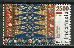 Indonesia 2012 Mi 2994 MNH ( ZS8 INS2994dav136 ) - Textile