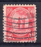 U.S.A - 1930 - 250th Anniversary Original Settlement  Charleston - Used - Etats-Unis