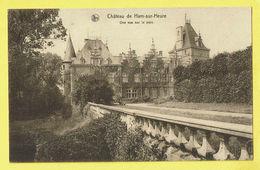 * Ham Sur Heure Nalinnes (Hainaut - La Wallonie) * (Nels, Edition Mme Vve Alfred Frère) Chateau, Parc, Kasteel, Castle - Ham-sur-Heure-Nalinnes