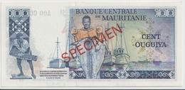 MAURITANIA P.  3A 100 O 1977 UNC - Mauritania