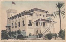 Postcard Zanzibar Country Palace Of H H The Sultan [ Moloo Brothers ] My Ref  B12842 - Tanzania