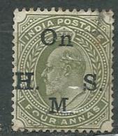 Inde  Anglaise  - Service  - Yvert N° 43 Oblitéré   - Po60851 - 1902-11 King Edward VII