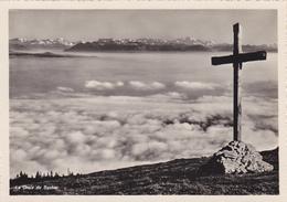SUISSE,SWITZERLAND,SVIZZERA,SCHWEIZ,HELVETIA,VAUD,CROIX DU SUCHET,CARTE PHOTO DERIAZ - Suisse