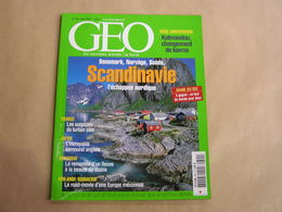 GEO Magazine N° 302 Géographie Voyage Monde Inde Katmandou Karma Scandinavie Japon Paraguay Finlande Gibraltar France - Tourisme & Régions