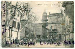 - GRANS  - ( B.-du-R ) - Le Cours Vu Du Planet, Cliché Peu Courant, 1910 écrite Par Un Soldat Du 55 éme, TBE, Scans . - Autres Communes