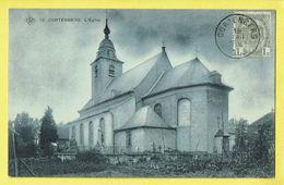 * Kortenberg - Cortenberg (Vlaams Brabant) * (SBP, Nr 12) église, Church, Kirche, Kerk, Timbre, Cimétière, Cemetery - Kortenberg