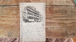BRUXELLES BRUSSEL - LE GRAND HOTEL - ATTELAGE- PAPETERIE NIAS - OBLITERATION 1898 - Bruselas (Ciudad)