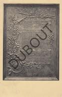 Postkaart/Carte Postale LEUVEN Monument Ancien Membres De L'Union Des Etudiants Louvanistes Morts 1914-18 WOI (O376) - Leuven