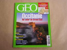 GEO Magazine N° 305 Géographie Voyage Monde Occitanie Arles France Amazonie Cameroun Forêts Birmanie Indonésie Travestis - Tourisme & Régions