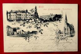 CPA AUTRICHE GRUSS AUS LICHTENWÖRTH NADELBURG - 1899 - Otros