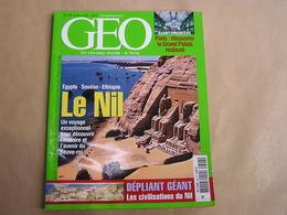 GEO Magazine N° 308 Géographie Voyage Monde Egypte Soudan Ethiopie Le Nil Paris Bali Inde Clipperton Sibérie Pakistan - Tourisme & Régions
