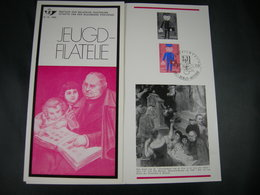 "BELG.1969 1511 FDC Folder NL (St-Denijs) : "" Jeugdfilatelie"" - 1961-70"
