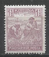 Hungary 1922. Scott #342 (M) Harvesting Wheat * - Neufs