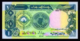 SUDAN 1 POUND 1987 Pick 39 Unc - Zimbabwe