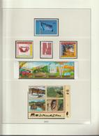 Nations Unies Genève Année 2001 Neuve ** MNH Sur Feuilles Lindner - Sammlungen (ohne Album)
