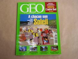 GEO Magazine N° 318 Géographie Voyage Monde Soleil Energie Languedoc Roussillon Russie Aquariums Madagascar Phoenix - Tourisme & Régions