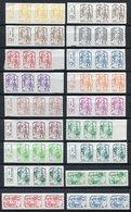 RC 11873 FRANCE N° 847 / 861 + 862 / 864 SERIE X3  MARIANNE DE CIAPPA + ROULETTES  AUTOADHÉSIFS COTE 219,00€ TB - Adhesive Stamps