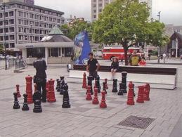Chess - Giant Chess Board, Christchurch, New Zealand - Echecs