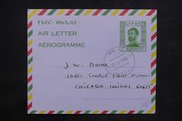 ETHIOPIE - Aérogramme Pour Chicago En 1964 - L 24732 - Ethiopie