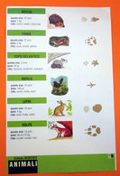 SCHEDA CLEMENTONI ANIMALI ANIMALS - Animali