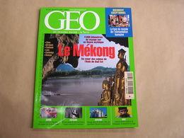 GEO Magazine N° 321 Géographie Voyage Monde Asie Mékong Japon Espagne Franco Ukraine Inde Veerappan Bandit Renzo Piano - Tourisme & Régions