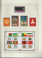 Nations Unies Genève Année 2008 Neuve ** MNH Sur Feuilles Lindner - Collections (without Album)
