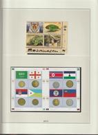 Nations Unies Genève Année 2012 Neuve ** MNH Sur Feuilles Lindner - Sammlungen (ohne Album)