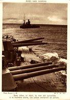 AVEC NOS MARINS SANS TREVE NI REPIT LA MER EST SURVEILLEE WW2 - Guerra 1939-45
